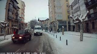 14 cm de Nieve en Reinosa