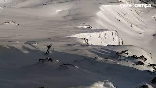 Alto Campoo Esquí de montaña. Panorámica Sierra del Cordel