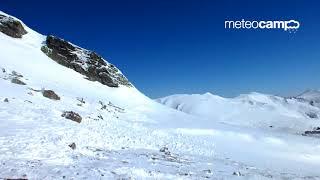 Alud de placa en Cuchillon SE 21-3-2018