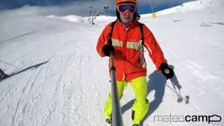 Prueba gopro esqui de  travesia en  Alto Campoo