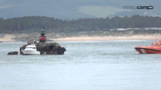 Rescate nadador en la Horadada