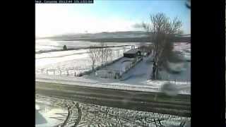 Timelapse nevada Corconte 5 y 6 de Febrero 2013