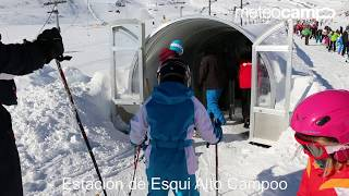 Túnel de hielo de Campoo