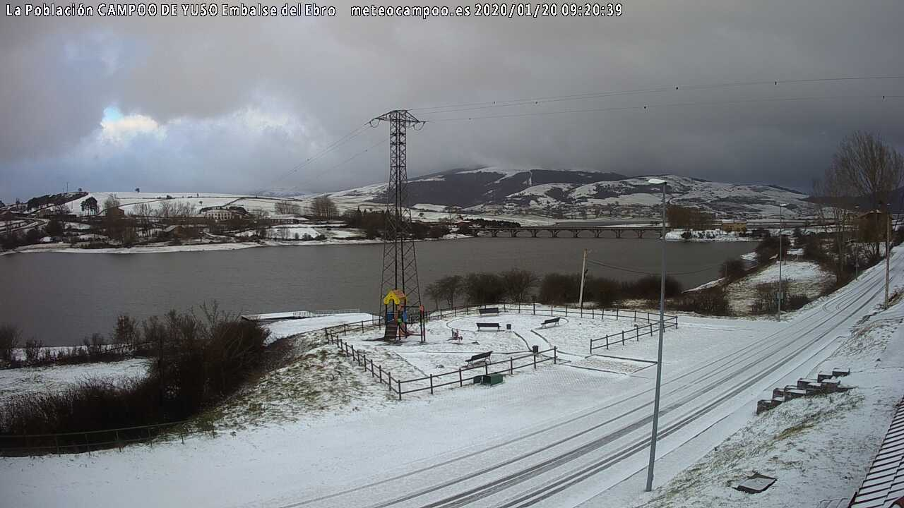 Webcam La Poblacíon - Campoo Yuso | Embalse Ebro