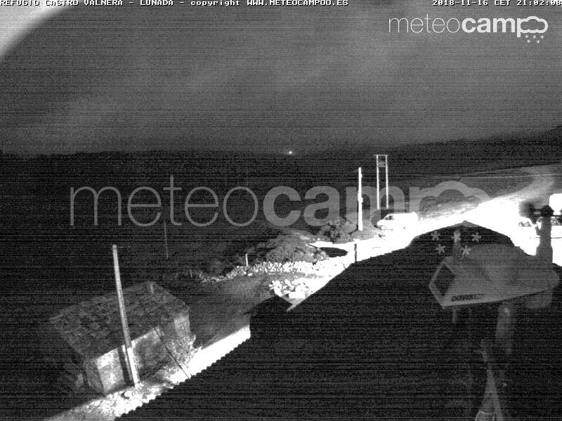 Webcam Lunada | Refugio Castro Valnera