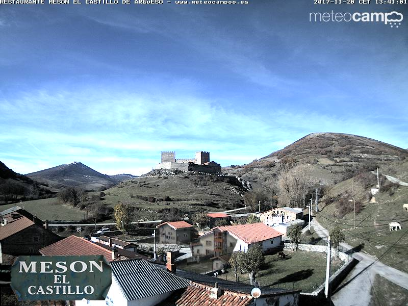 Webcam Castillo de Argüeso