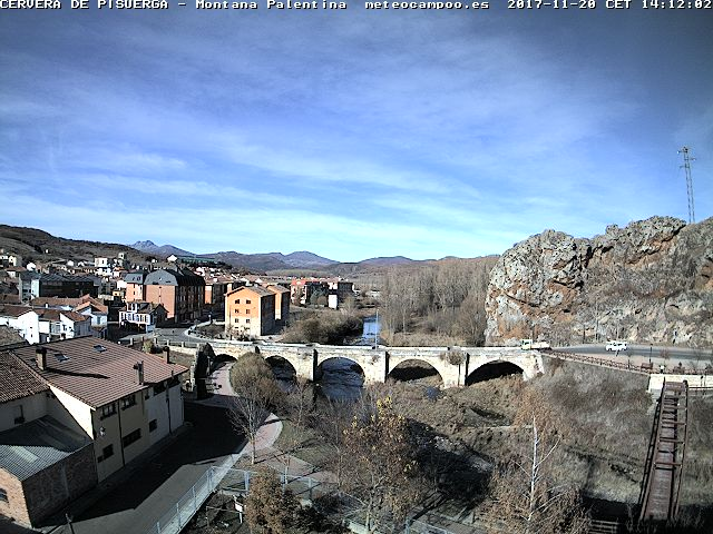 Webcam Cervera de Pisuerga