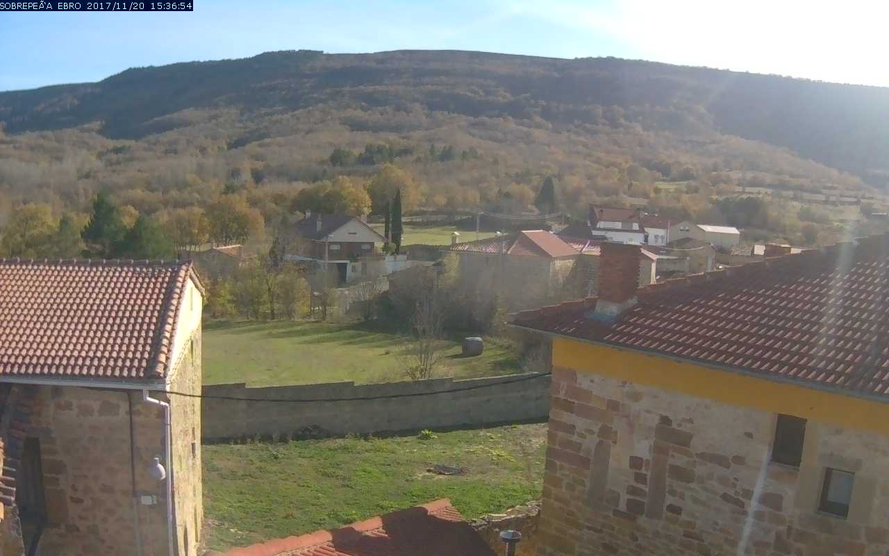 Webcam Sobrepeña de Ebro